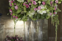 Hydrangea Floral Arrangement in Vase